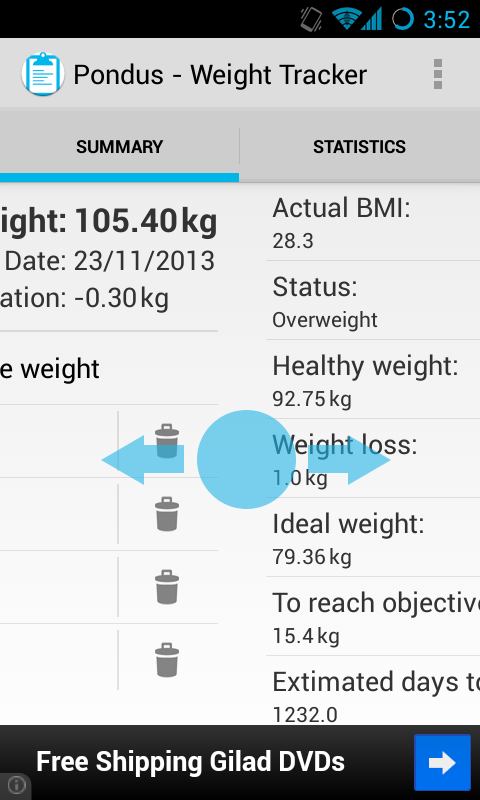 Pondus - Weight Tracker- screenshot