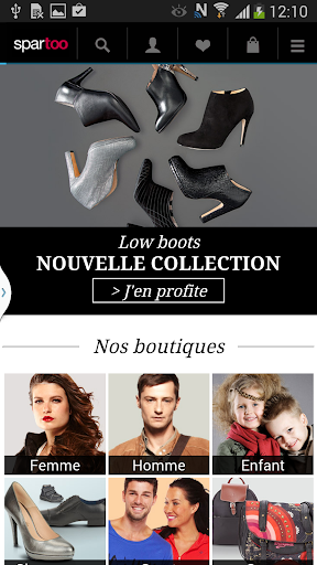 Shopping et chaussures Spartoo