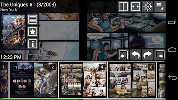 Screenshot of ComicRack