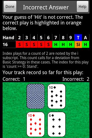 Blackjack Expert- screenshot