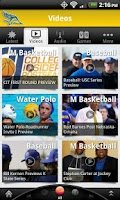 Screenshot of CSUB Athletics: Free