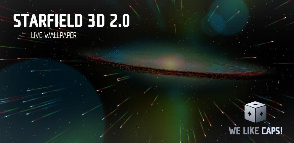 Starfield 2.0 Live Wallpaper v2.5 Apk - Android Apk