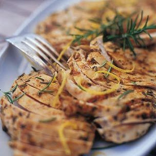 Lemony Yogurt Chicken
