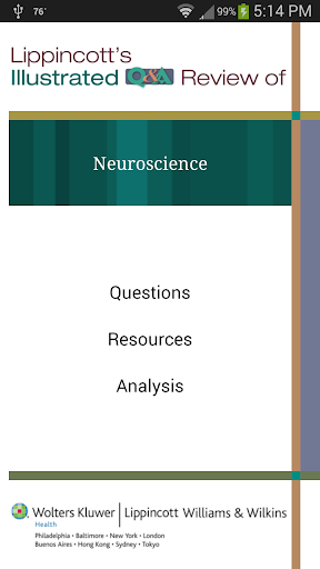 Neuroscience Lippincott's Q A