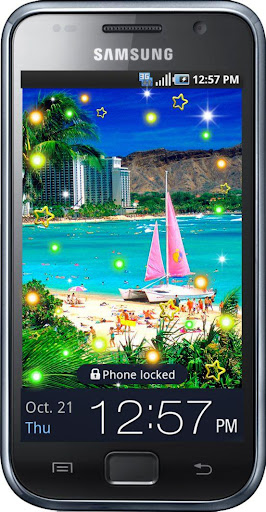 Hawaii Beach live wallpaper