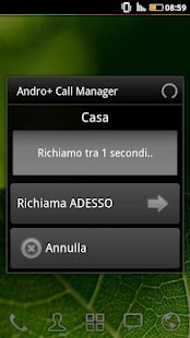 A+ Call Manager (Backgrounder) - screenshot thumbnail