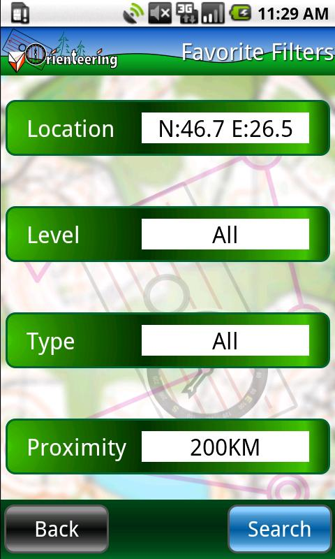 Virtual Orienteering- screenshot