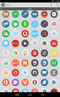 Flatee - Icon Pack Screenshot 9