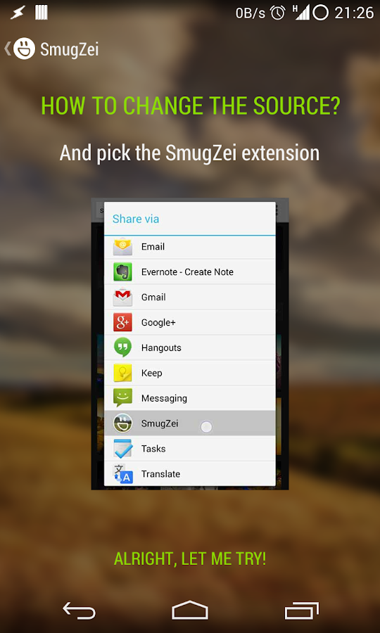 SmugZei (SmugMug for Muzei)- screenshot
