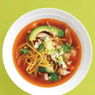 Mexican Chicken Tortilla Soup.