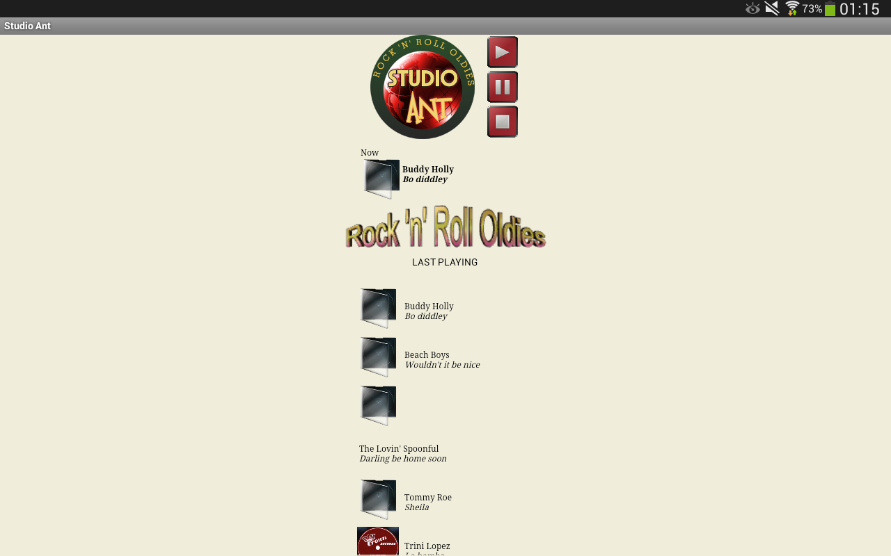 Studio ANT Rock&Roll Oldies- screenshot