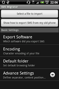 SMS Migrator - screenshot thumbnail