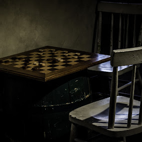 wanna play a game? by Denise Johnson - Artistic Objects Still Life