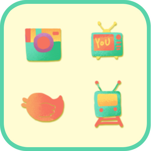 Rainbow Boys icon theme