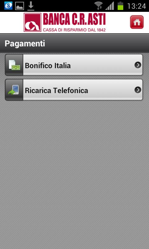 Banca C.R.Asti - screenshot