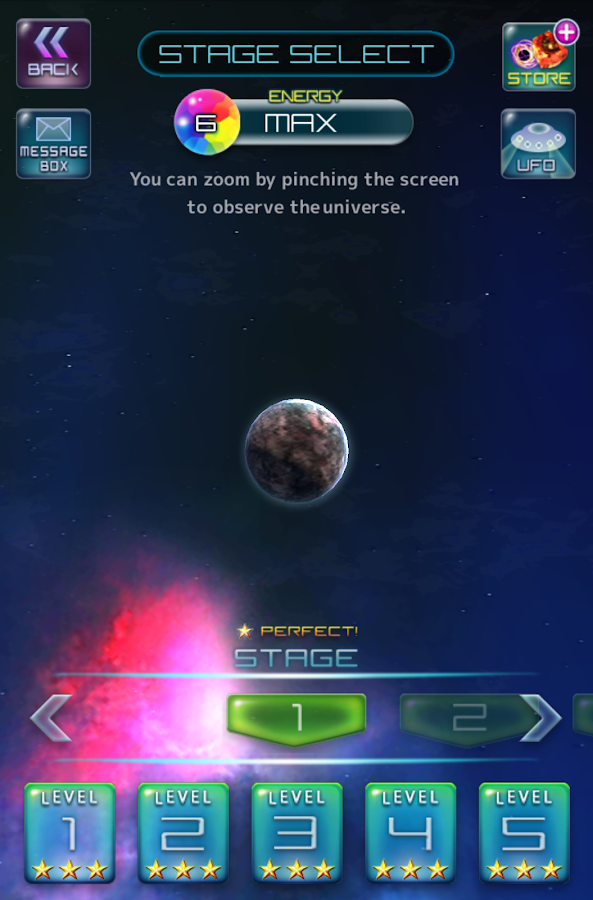 Million Asteroids- screenshot