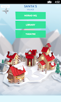 Screenshot of NORAD Tracks Santa