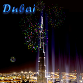 Fireworks At Dubai