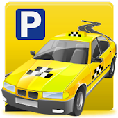 Car Driving Cab Parking 3D