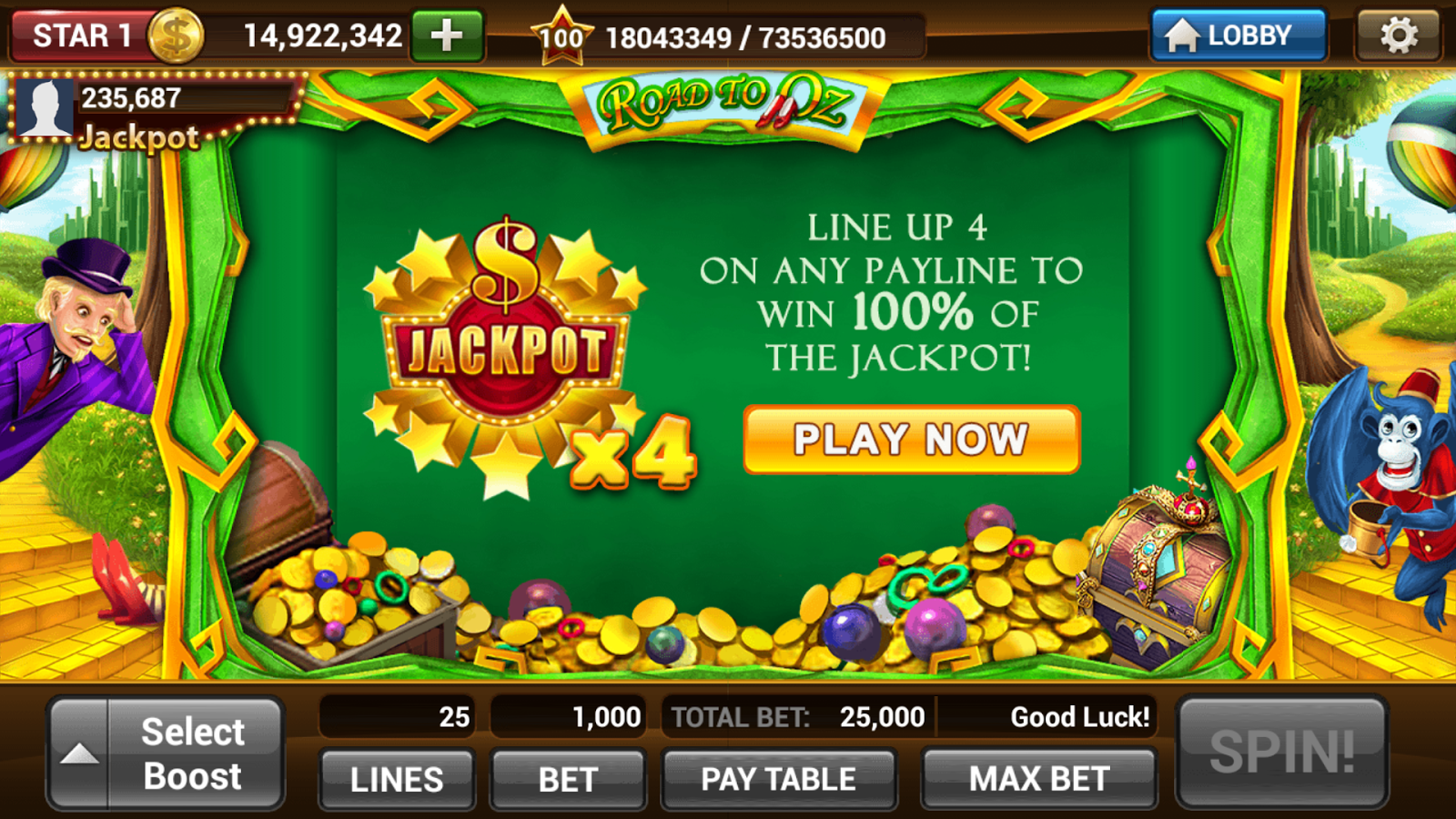 Slot Machines by IGG - screenshot