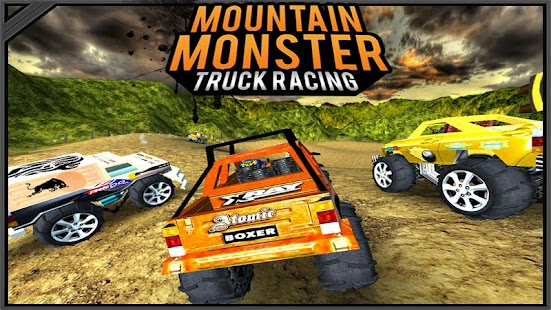 Mountain Monster Truck Racing- screenshot thumbnail