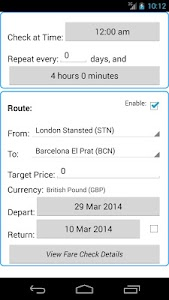 Ryan Flight Fare Watch screenshot 4
