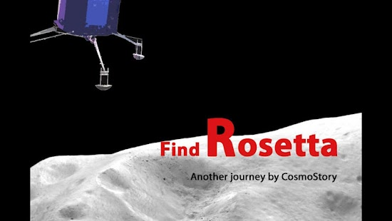 Find Rosetta / Churyumov- screenshot thumbnail