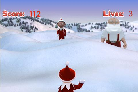Snowball Fight -Christmas Game - screenshot