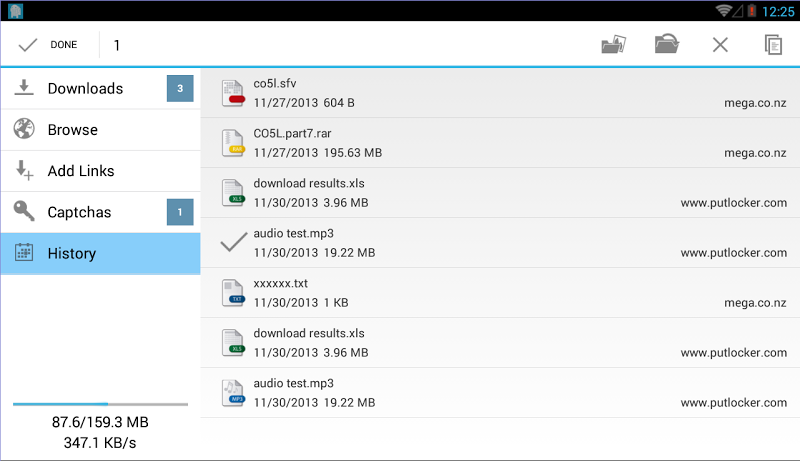 Ponydroid Download Manager Screenshot 12