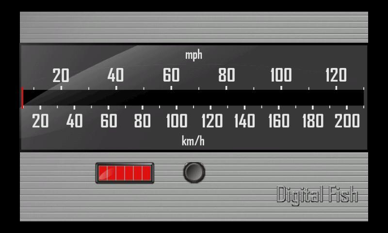 Speedometer 125- screenshot