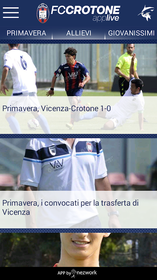FC CROTONE- screenshot
