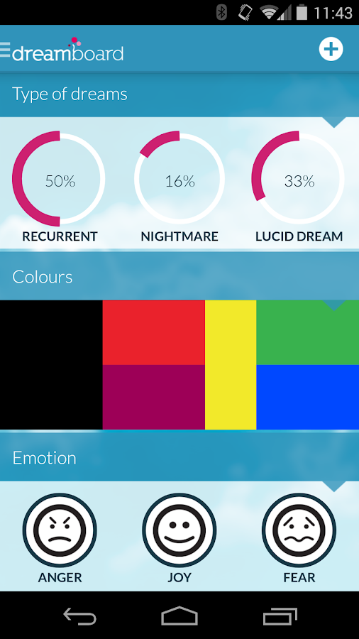 Dreamboard, track your dreams - screenshot