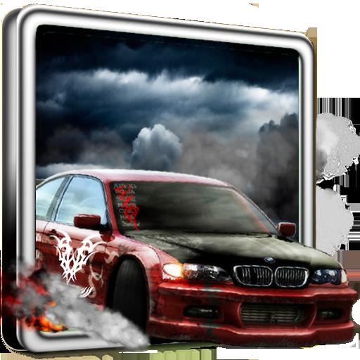 漂移賽車3D 賽車遊戲 LOGO-阿達玩APP