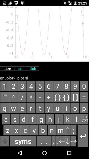 Gnuplot Mobile