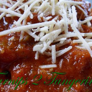 Big Batch Spaghetti Meat Sauce.