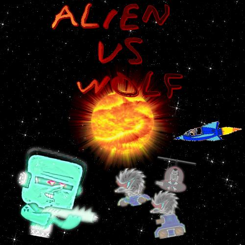 Alien Vs Wolf