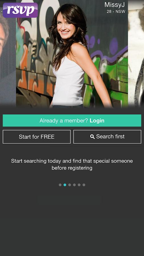 RSVP Dating- screenshot