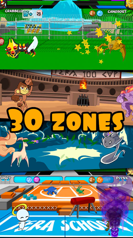 Terapets 1 - Battle Monsters- screenshot