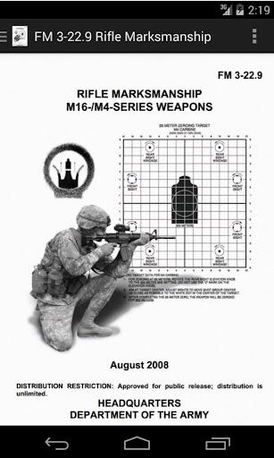【免費書籍App】FM 3-22.9 Rifle Marksmanship-APP點子