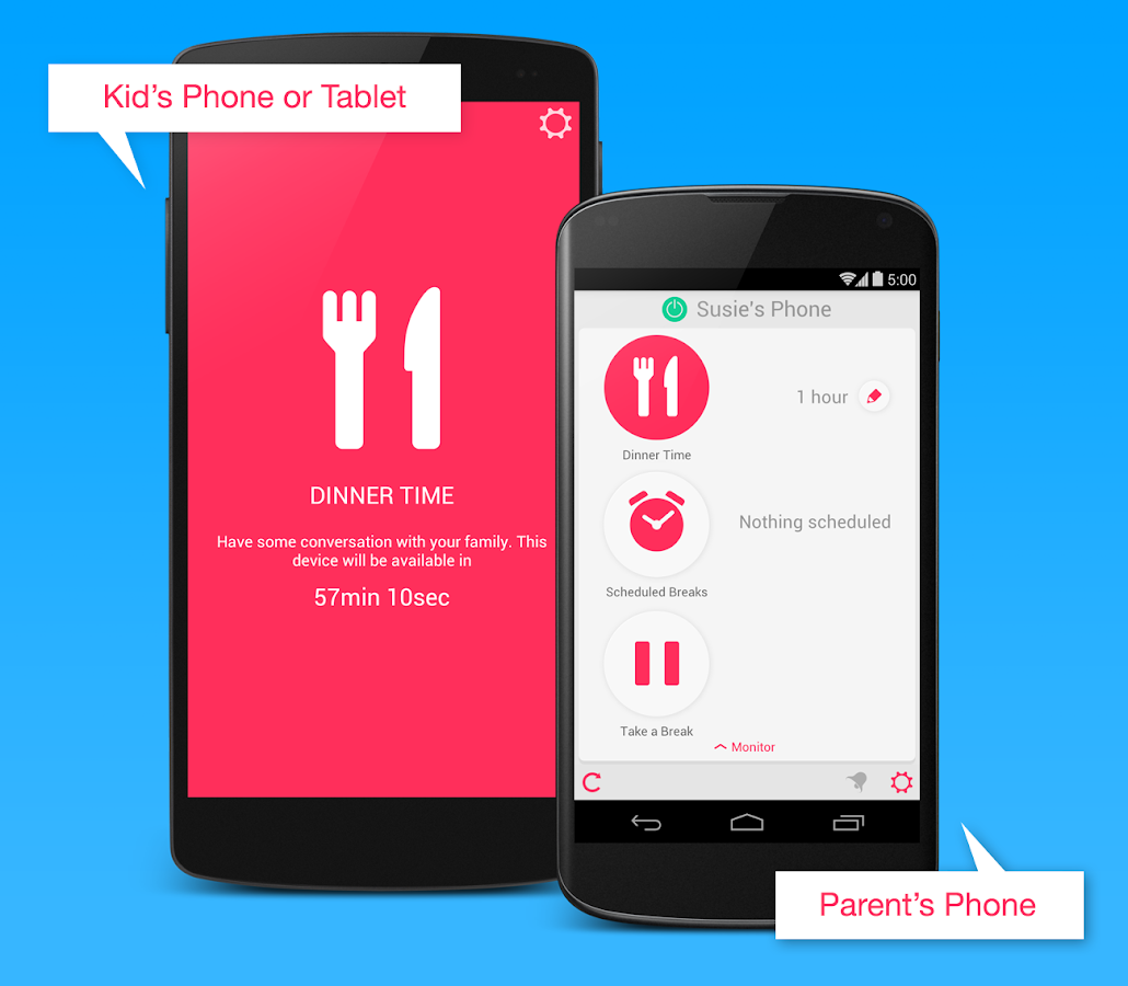DinnerTime Plus (Parental App)- screenshot