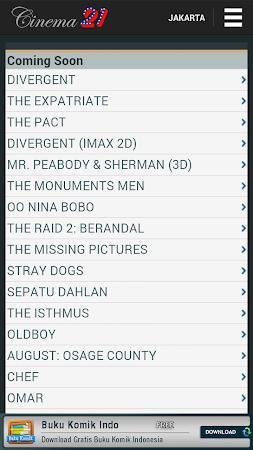 Jadwal Cinema 21 4.0.1 screenshot 240062