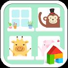 Animal dodol launcher theme icon