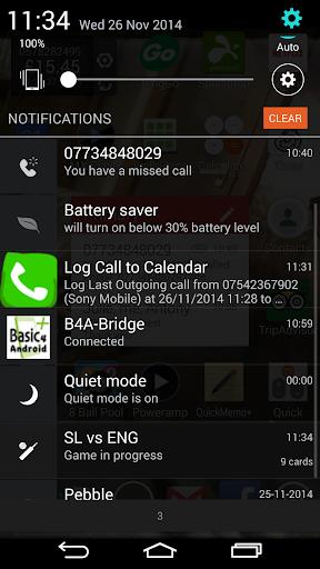 Log Call to Calendar