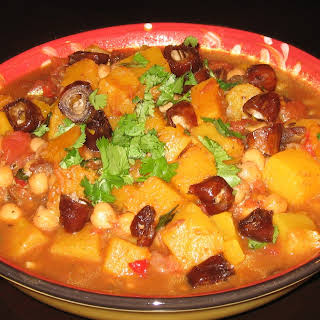 Moroccan-style Butternut Squash.