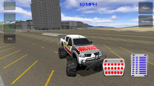 4x4 Monster Truck 3D