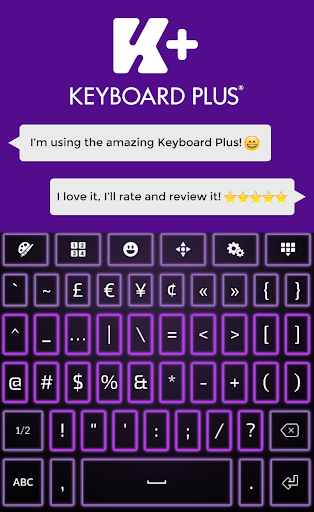 玩免費個人化APP 下載霓虹灯紫键盘 app不用錢 硬是要APP