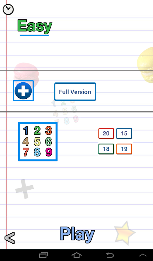 AB Math lite - games for kids - screenshot