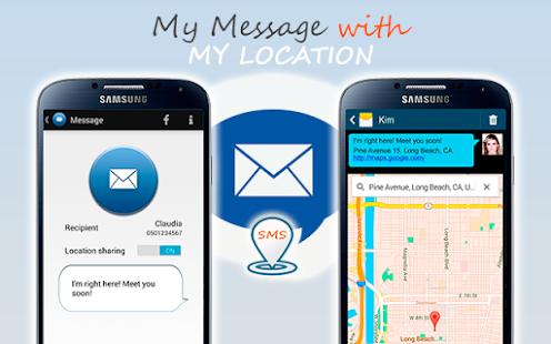 SMS Location Messenger - screenshot thumbnail