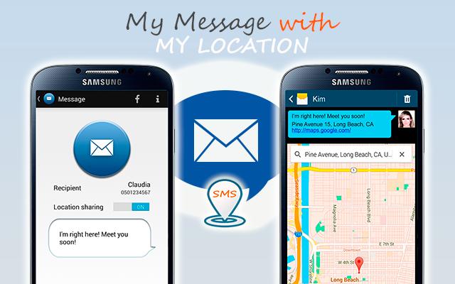 SMS Location Messenger - screenshot