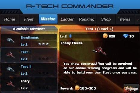 R-Tech Commander: Galaxy - screenshot thumbnail
